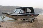 Водометный катер Fish 565 от красноярской верфи «Fuso Jet»