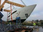 Морское путешествие сорокаметровой яхты