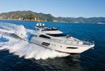 Чрезвычайный дизайн для нового поколения яхт Dominator