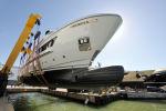Sanlorenzo 460EXP - спуск на воду второго корпуса