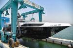Первый корпус Majesty 122 спущен на воду!