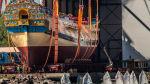 5 лет со дня закладки корабля «Полтава»