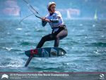 Петербурженка Елена Калинина завоевала серебро на Чемпионате мира по кайтбордингу