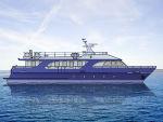 Новый проект моторной яхты 23 м