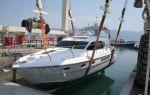 В Новороссийске спущена на воду первая яхта Haines 400 Aft Cabin