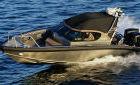 Предлагаем выставочный (тестовый) катер Marell 850 WA. Комплектация два подвесных мотора Evinrude...