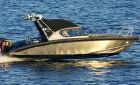 Комплектация подвесные моторы - два по 300 л.с. с гидролифтом, покрытие палубы натуральный...