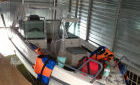 Аренда гаража эллинга для катера 8м*4м